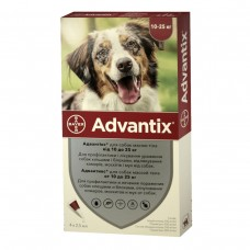 Advantix (Адвантикс) вес 10-25 кг