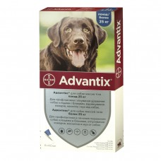 Advantix (Адвантикс) вес  25-40 кг