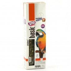 LoLo Pets Smakers BIG PARROTS Лакомства для крупных попугаев с фисташками Вес: 250 гр